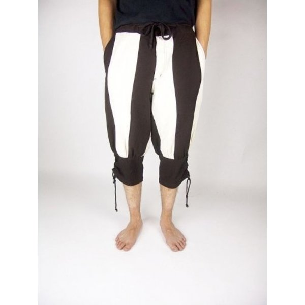 Pavia trousers, brown-cream