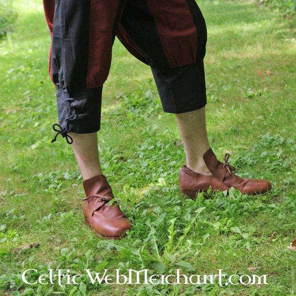 Leonardo Carbone Pavia bukser, sort-rød