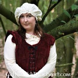17 wieku czapka, kremowy