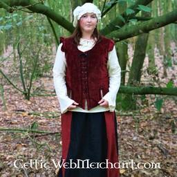 17 wieku czapka, czerwony