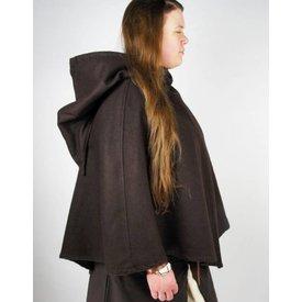Viking chaperon Alfhild, brun