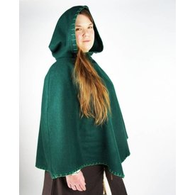 Chaperon Viking Alfhild, vert