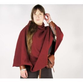 Viking chaperon Alfhild, red