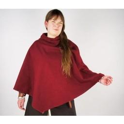 Viking chaperon Alfhild, czerwony