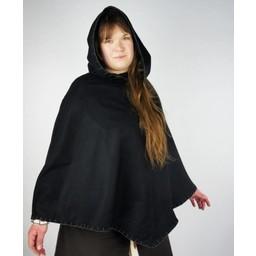 Viking chaperon Alfhild, black