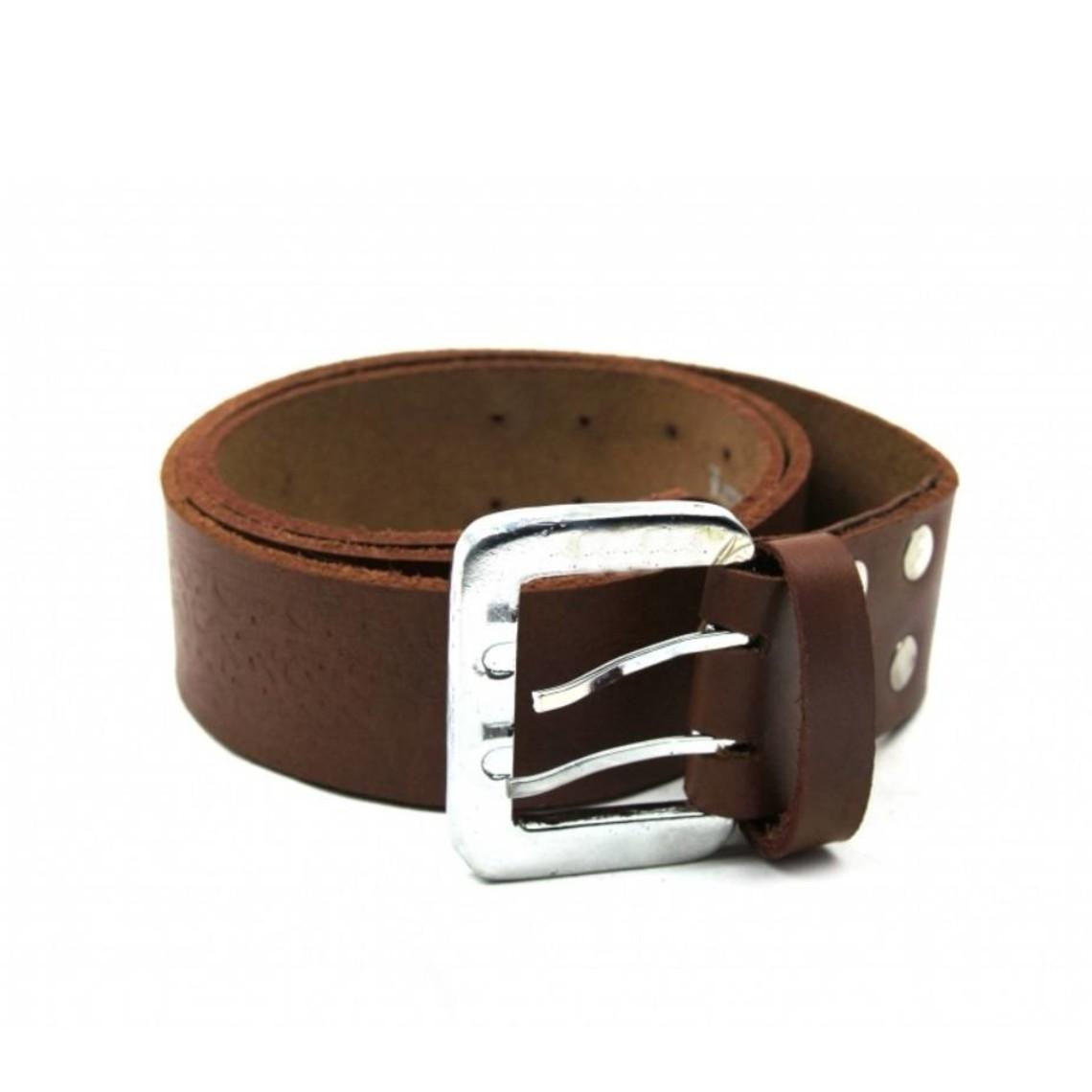 Leonardo Carbone Cinturón celta con hebilla, negro