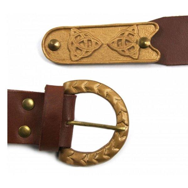 Celtic belt Cinaed, brown