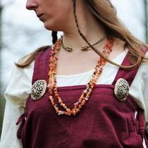 Viking Jeweled skrzydlaty człowieka Uppåkra, posrebrzane