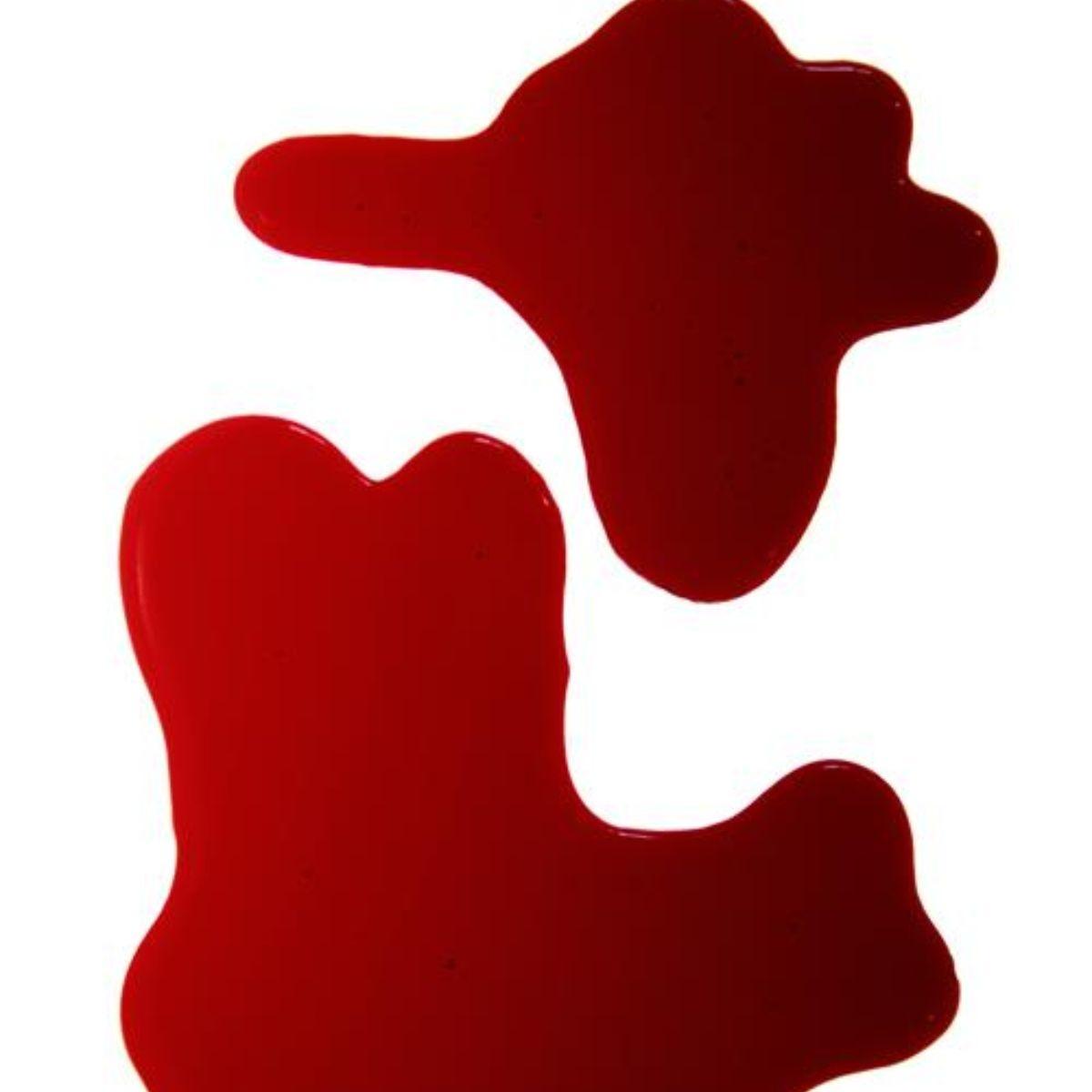 Fake blood spills