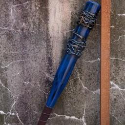 LARP Baseballschläger Stacheldraht, 80 cm, blau