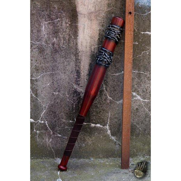 Epic Armoury LARP Baseballschläger Stacheldraht, 80 cm, rot