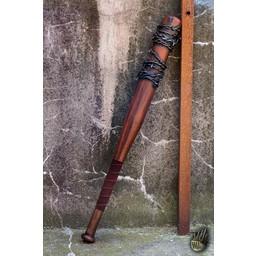 LARP baseball bat barbed wire, 80 cm, wood