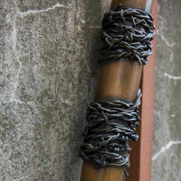 Epic Armoury GRV mazza da baseball di filo spinato, 80 centimetri, in legno