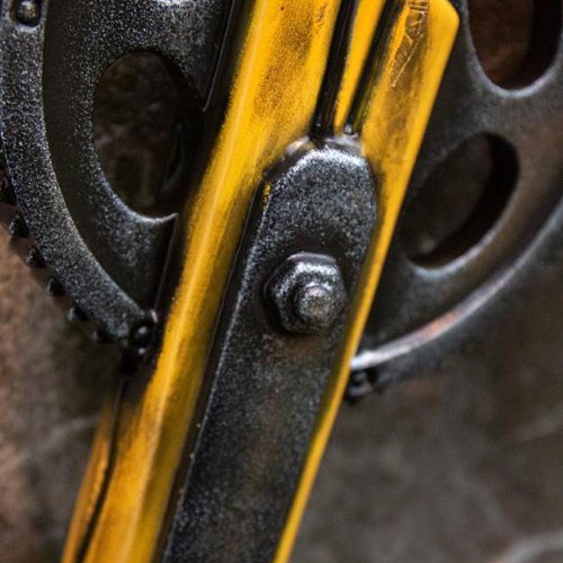 Epic Armoury GRV Mazza da basebal Ingranaggio, giallo