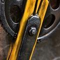 Epic Armoury LARP honkbalknuppel met tandwiel, geel