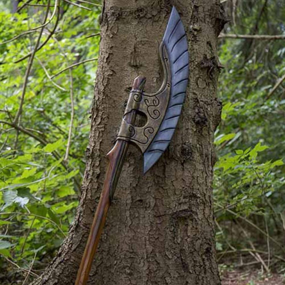Epic Armoury GRV ascia elfico ala