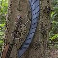Epic Armoury LARP hache Elven aile