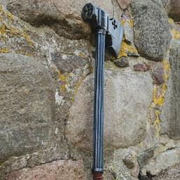 LARP battle axe with cross