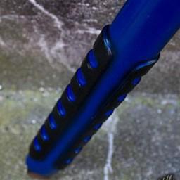 LARP czekan, niebieski