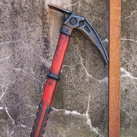 Epic Armoury LARP ice axe, red