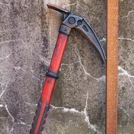 Epic Armoury piolet LARP, rouge