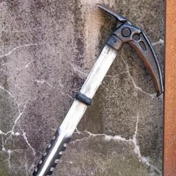 LARP ice axe, white