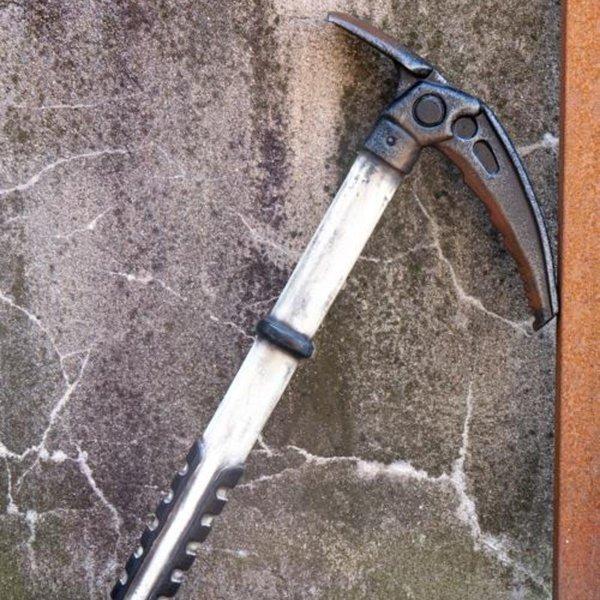 Epic Armoury LARP ice axe, white
