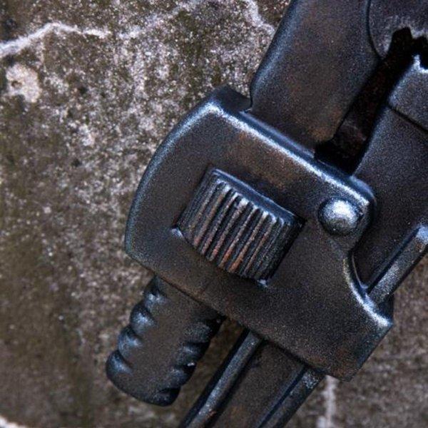 Epic Armoury LARP moersleutel, metaalkleur