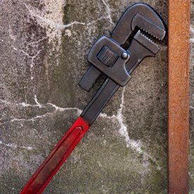 Epic Armoury LARP moersleutel, rood