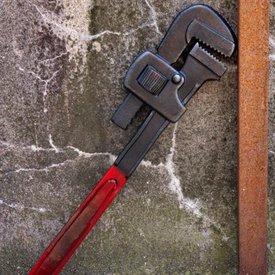 Epic Armoury LARP nyckel, röd