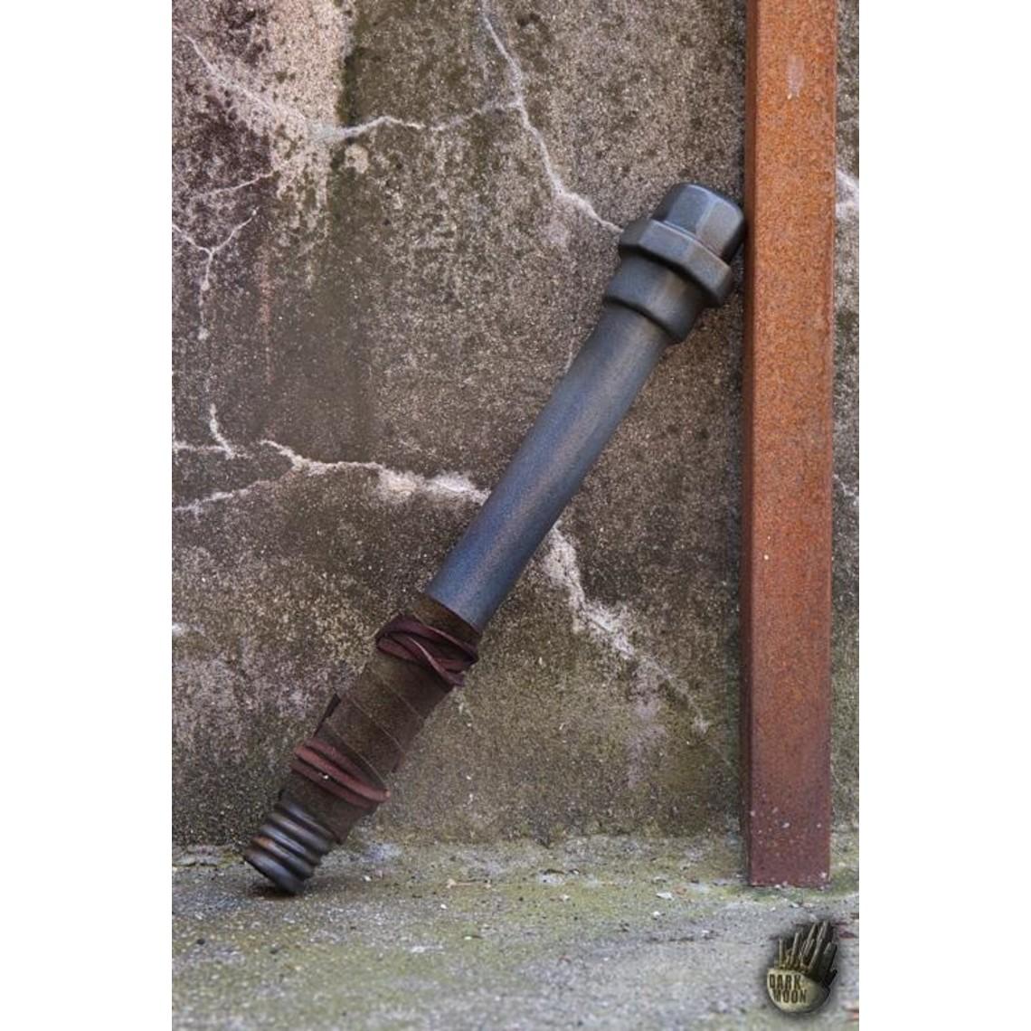 Epic Armoury LARP tubo di metallo, colore acciaio
