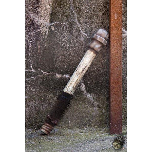 Epic Armoury LARP metal pipe, white
