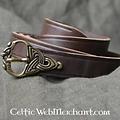 cinturón de Viking del siglo noveno, plateado