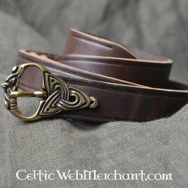 9. wieku Viking pas, posrebrzane