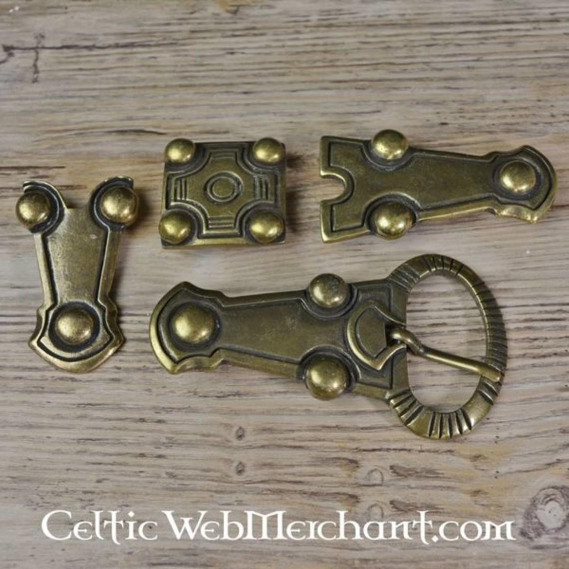 Allemanic belt fitting from Balingen, silvered
