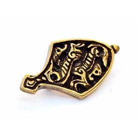 ruban d'animaux d'extrémité de ceinture, couleur bronze