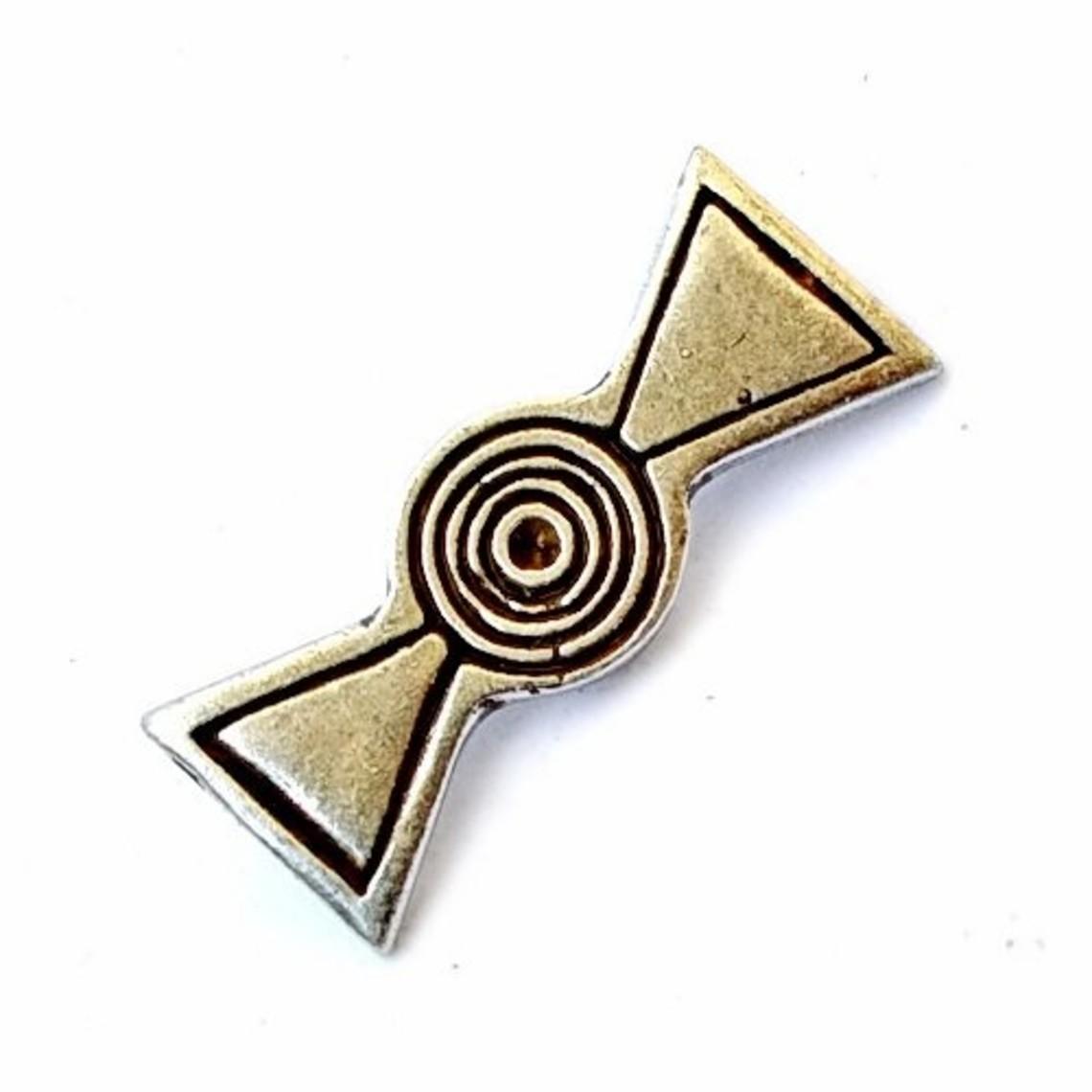 raccord ceinture romaine Propellar, argentait