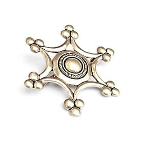 Brooch Uta zu Naumburg, silvered