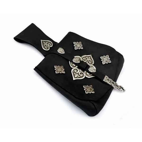 Viking bag Birka deluxe, black