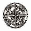 10de eeuwse Vikingbroche, verzilverd