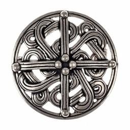10th century Viking brooch, silvered