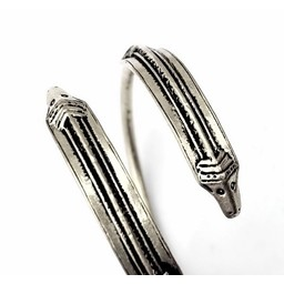Germaniskt armband Himlingøje, silverfärgat