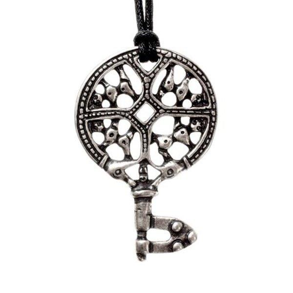 Viking nyckel, försilvrad