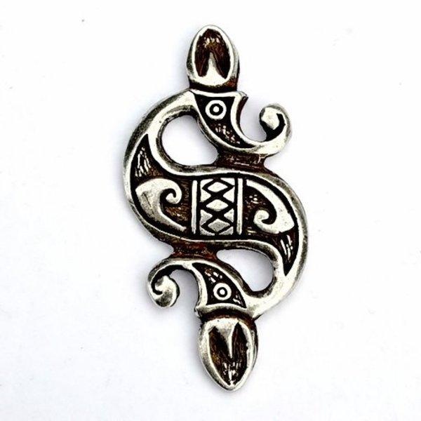 Celtic sea hest vedhæng, forsølvet