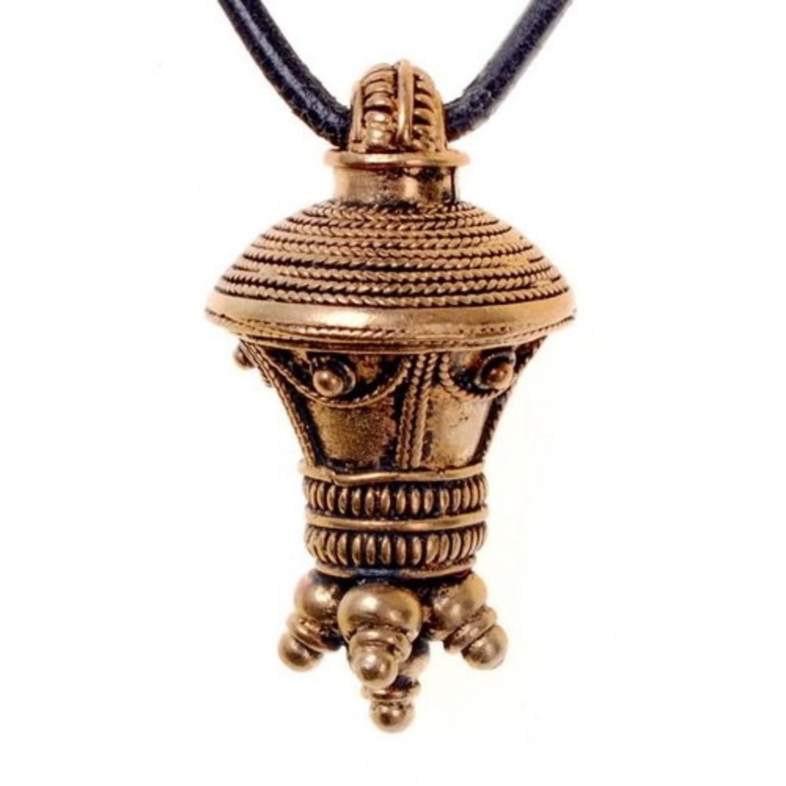 Germaanse berlock hanger, brons