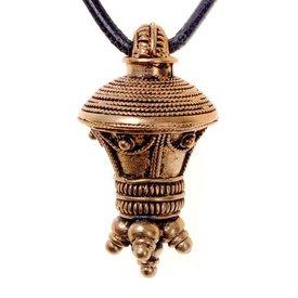 Germanic berlock pendant, bronze