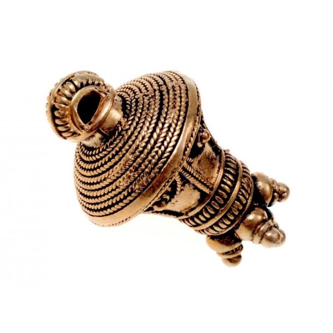 Germansk berlock vedhæng, bronze