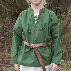 Kids shirt pirate, green