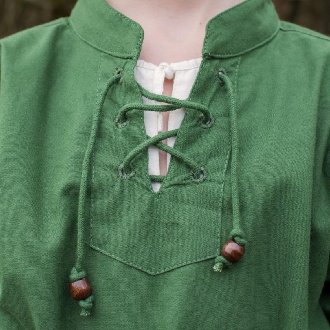 pirate enfants chemise, vert