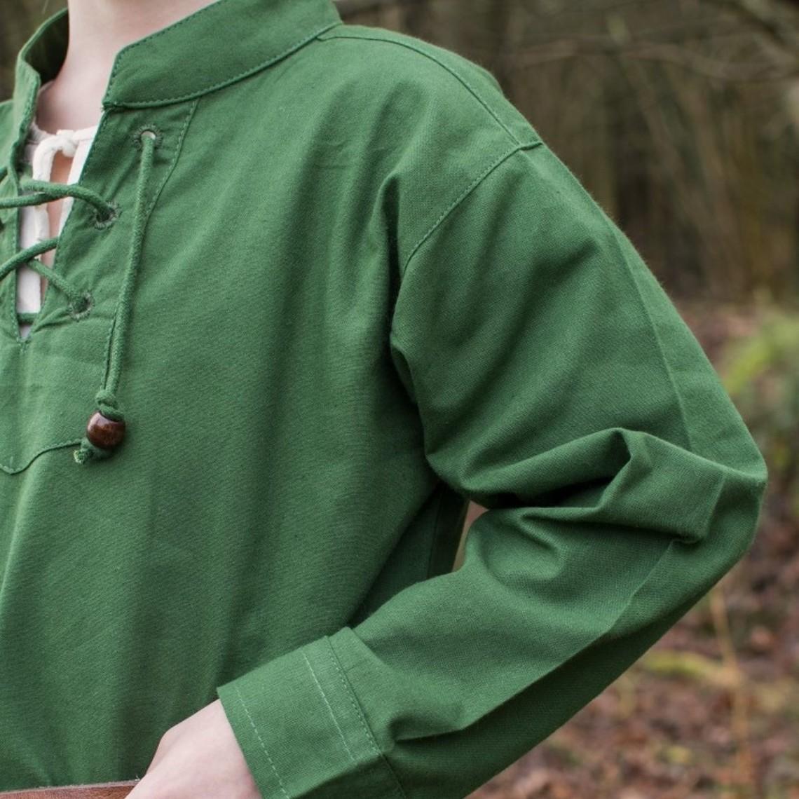 Kinder-T-Shirt Pirat, grün